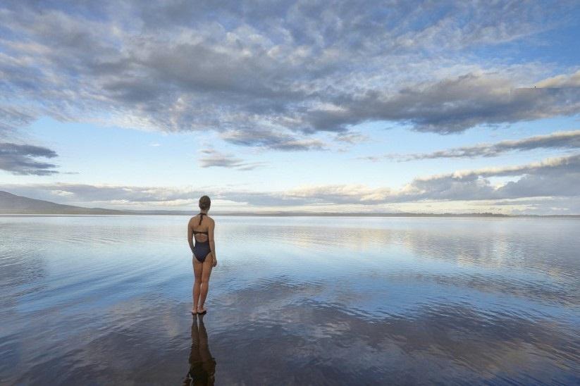 Jezero Laugarvatn Island