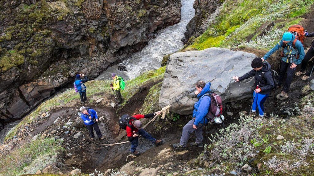 4 denní exkurze ve vnitrozemí Islandu