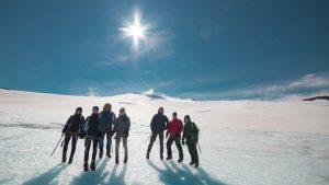 Exkurze na ledovci Snaefellsjokull