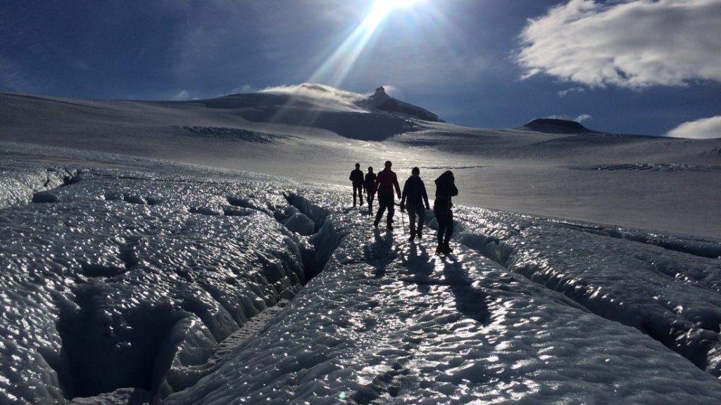 Exkurze na ledovec Snaefellsjokull