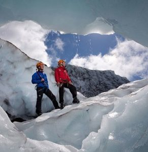Exkurze na ledovec Island