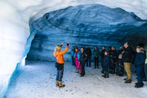 Exkurze do ledovce Langjokull