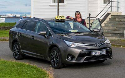 Taxi transfer z letiště do hotelu v Reykjavíku