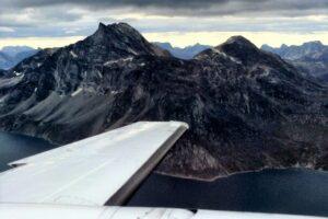 Panoramatické lety nad Islandem