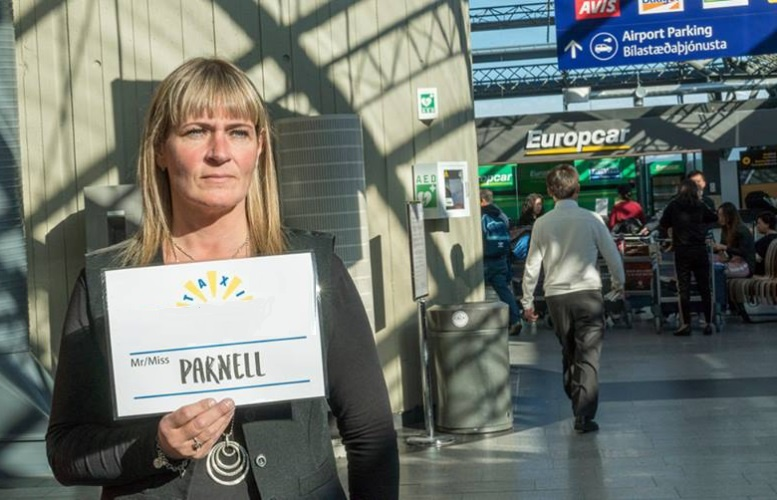 Taxi služba z letiště na Islandu