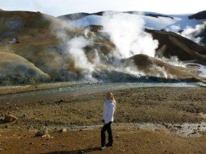 vnitrozemí Islandu Čarodějné hory