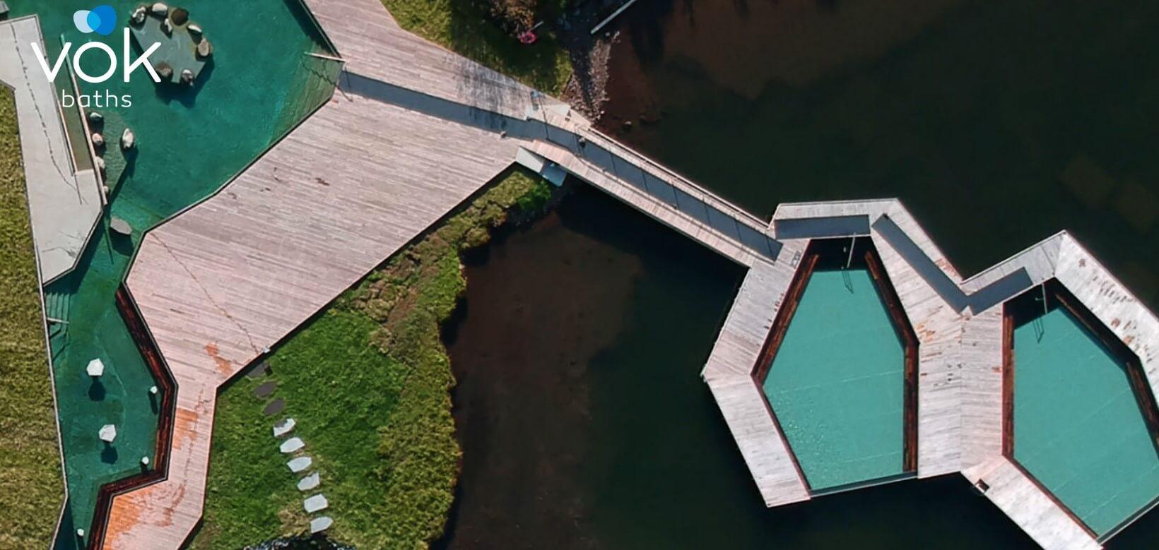 termální bazény Island