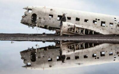 Transfer k letadlu DC3 – Sólheimasandur